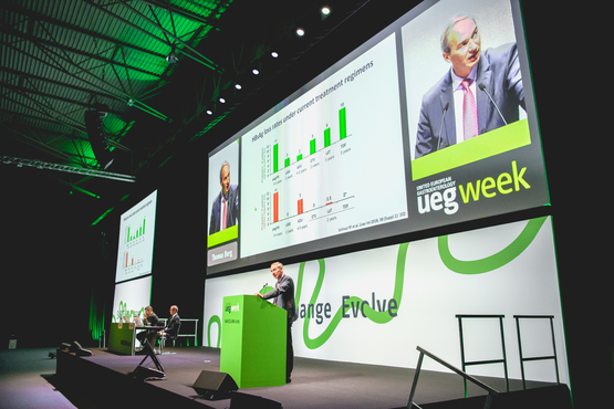 UEG Week Plenary Hall