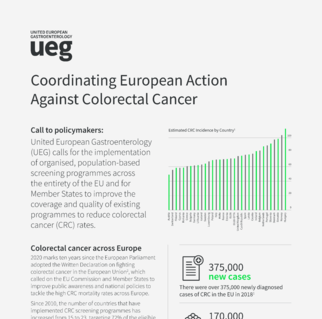 Coordinating European Action Against Colorectal Cancer