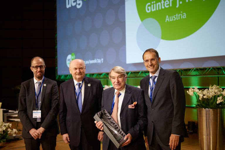 Lifetime Achievement Awardee 2016 - Günter J. Krejs