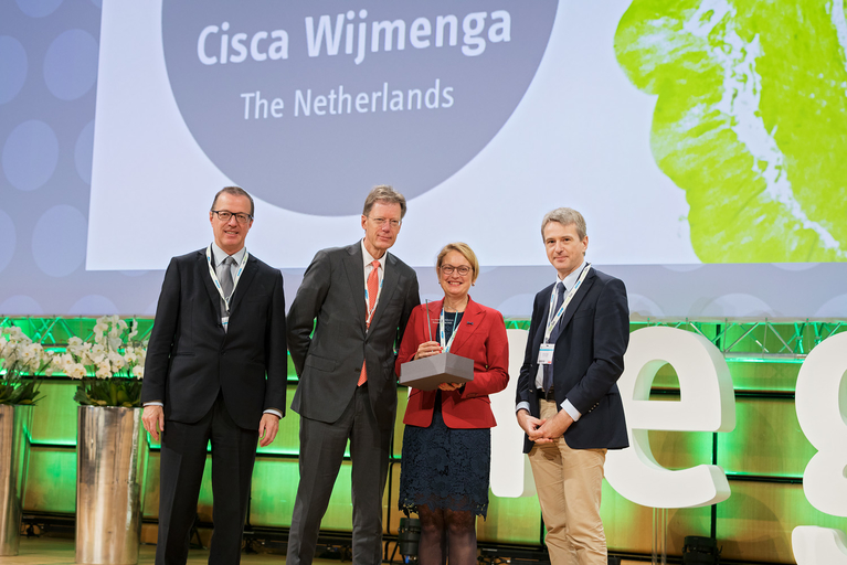 Research Prize Awardee 2018 - Cisca Wijmenga